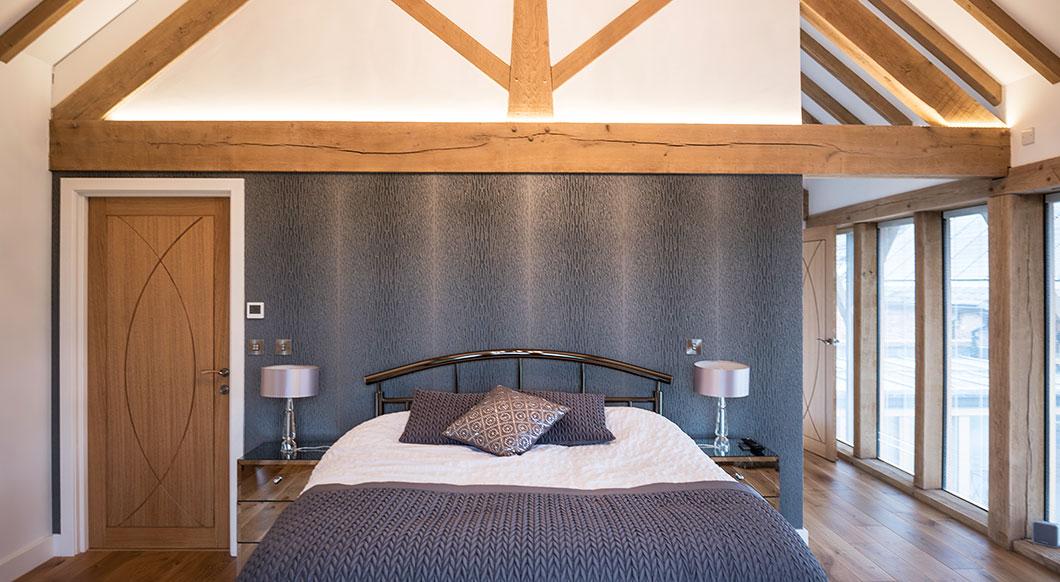 Cumcatch Farm - bedroom