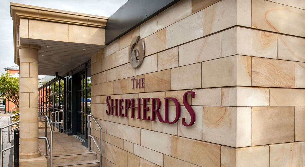 The Shepherds Inn signage