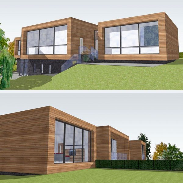 Planning Approval, New Contemporary House